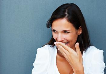 Veckans Anders skrattande kvinna