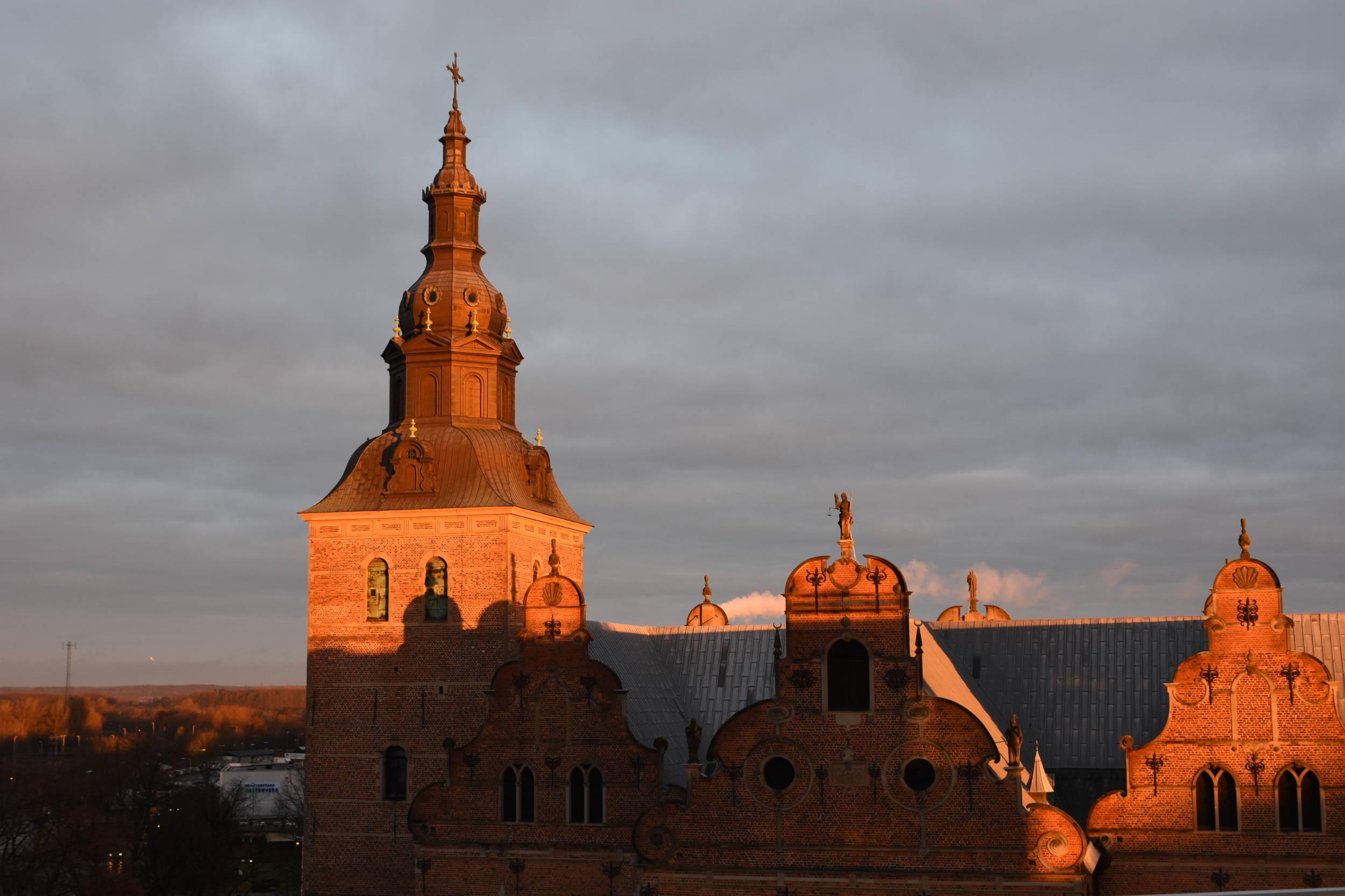 Soluppgång över Kristianstad